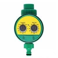 自動灌漑コントローラの lcd ディスプレイ散水タイマーホース蛇口タイマー屋外防水自動にオフ