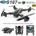 S167 Дрон 4K Профессиональный с HD камерой GPS Дрон 5G/2 4G Wi-Fi FPV follow me RC Квадрокоптер долгое время полета дроны VS SG907