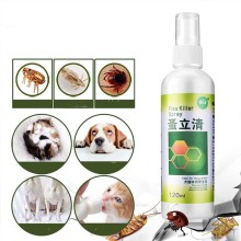 120 мл спрей для лечения вшей быстро и легко убивает блох клещей для лечения Вшей Спрей для собак кошек