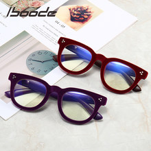 Iboode – lunettes de lecture à monture floquée, Anti-lumière bleue, pour homme et femme, presbytie, ordinateur
