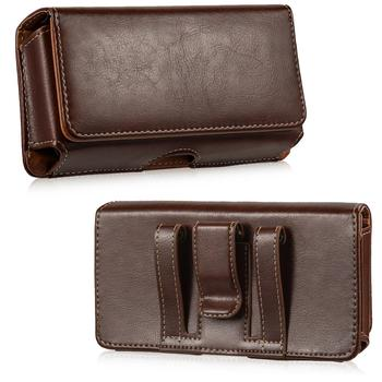 Phone Pouch case Genuine Leather Phone Bag Universal 5.5  1
