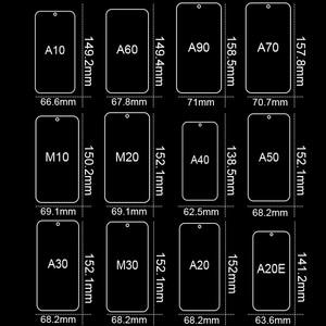 Image 2 - Tempered Glass For Samsung Galaxy A50 A30 Screen Protector Glass For Samsung Galaxy A51 A10 M20 A20 A20E A40 A80 A70 A60 Glass