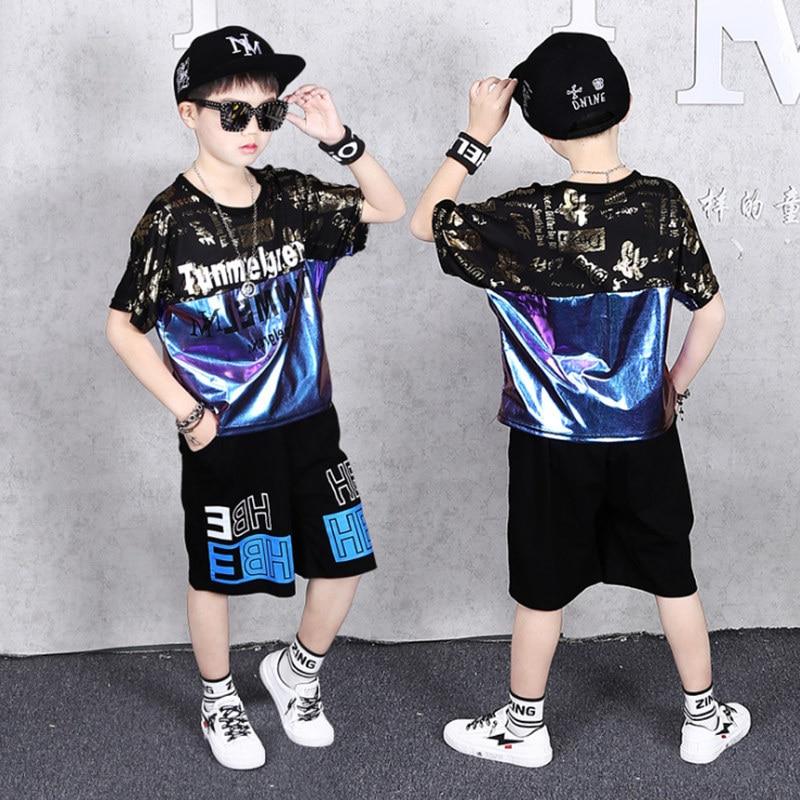 Teenage Children Boys Clothing Set Summer 2021 Letter T Shirt Hawaiian Shorts Teens Kids Boys Clothes For 6 8 10 12 13 14 Year 4