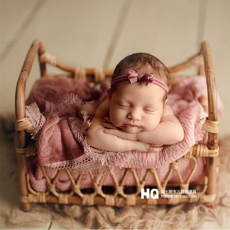 Ultimate SaleBasket Shooting-Props Photography-Accessories Woven Newborn Girl Baby Nacido Recin And