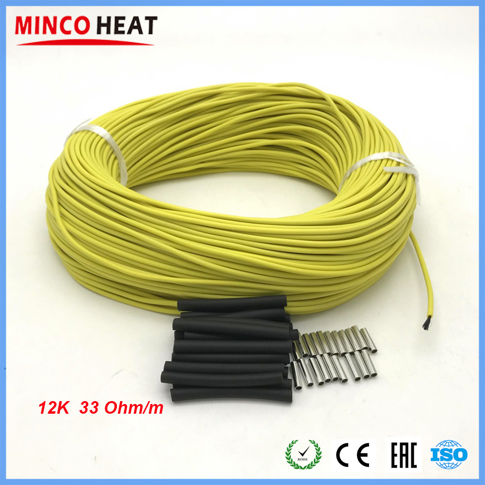 12k Infrared Floor Heating Cable
