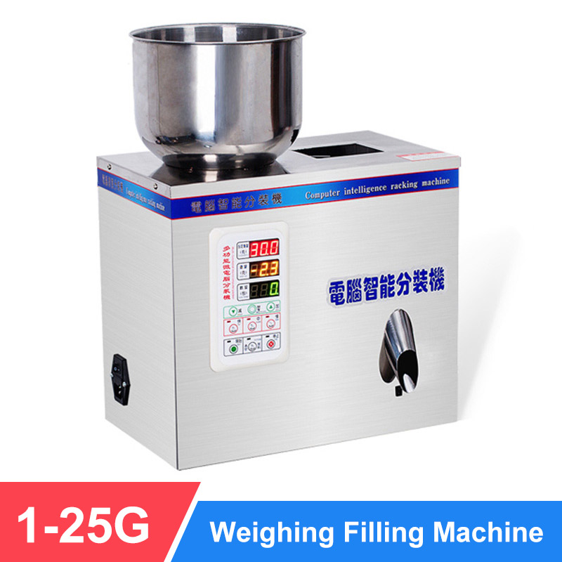 YTK 25G Granule Powder Filling Machine Automatic Weighing Machine Medlar Packaging Machine For Tea Bean Seed Particle
