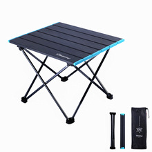 Foldable Barbecue Aluminum-Alloy Outdoor Camping Collapsible-Desk Picnic Mini