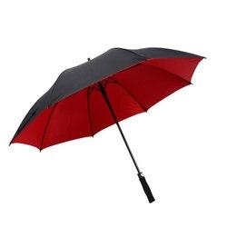 All-Tempo Extra-grandes nan shi san Golfe Guarda-chuva Por Atacado Longa Alça Dupla Camada Guarda-chuva Personalizados Logotipo Impresso palavras St