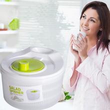 Basket Salad-Spinner Vegetables-Dryer Wash-Drying Fruits Storage-Machine-Tools Clean