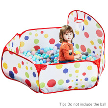 Pool-Park Playpen Balloons Ocean-Ball Portable Kids Children Outdoor with Folding Toys