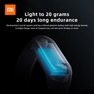 Image 5 - Xiaomi Mi Band 3 Smart Wristband with Fitness Tracker Heart Rate Moniter OLED Bluetooth Sports Bracelet Water Resistant Miband 3