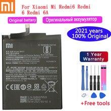 Новинка 2021 года оригинальный XIAOMI батарея BN37 3000 мАч для Xiaomi Redmi 6 Redmi6 Redmi 6A Высокое качество батареи сотового телефона + Бесплатные инструменты