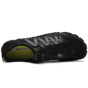 Image 2 - メンズ 5 指の靴裸足屋外スニーカー男性上流アクア靴夏水シューズの男速ドライ川海スリッパ