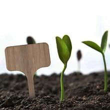 50 шт. этикетки для растений бирки доска для фермы бамбуковые садовые маркеры Экологичные Ландшафтные т типа многоразовые Многоразовые овощные вывески
