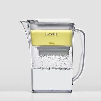 Maxsome кувшин для воды, бытовой фильтр для воды с активированным углем, кувшин, очиститель питьевой воды, акселерометр
