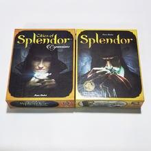 Splendor masa oyunu şehirler Splendor genişleme popüler kart oyunu 2-4 oyuncu masa oyunları yetişkinler için aile partisi oyuncak hediye
