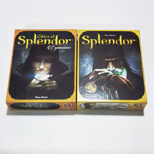 Splendor Board Game Cities of Splendor Expansion Popular Card Game 2 4  Players Table Games For Adults Family Party Toy Gift| | - AliExpress