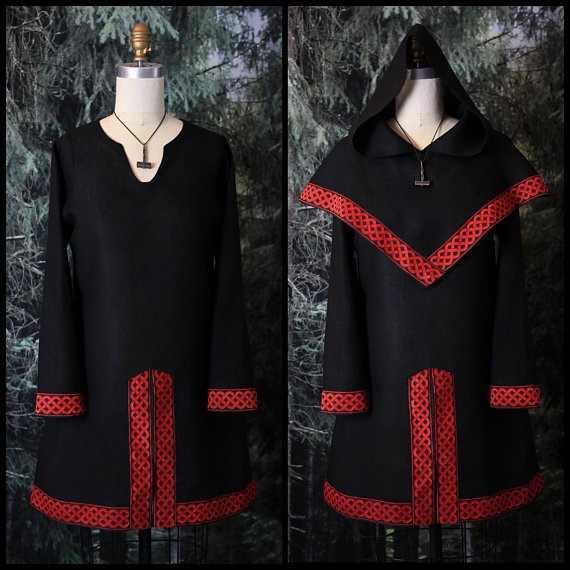 Dorosły mężczyzna średniowieczna koszula-tunika Larp Viking kostium pirata renesansowa odzież celtycki rycerz konny Cos Garb Cosplay czapka