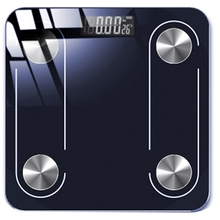 Bluetooth Body Scale Smart Scale Glass LED Digital Floor Scale Bathroom Weight Scale Balance