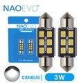 Светодисветодиодный NAOEVO C5W, 28 мм, 31 мм, C10W, CANBUS, для салосветильник автомобиля, без ошибок, 36 мм, фестон 39 мм, 41 мм, 44 мм, для E39, E60, F30, F10, X5, E70, F31