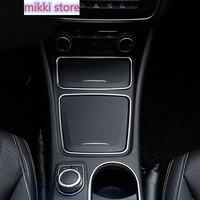 Auto Center Konsole Aschenbecher Halter Lagerung Box Trim Rahmen Für Mercedes Benz EINE CLA GLA Klasse CLA200 220 260 W176 c117 W117 X156