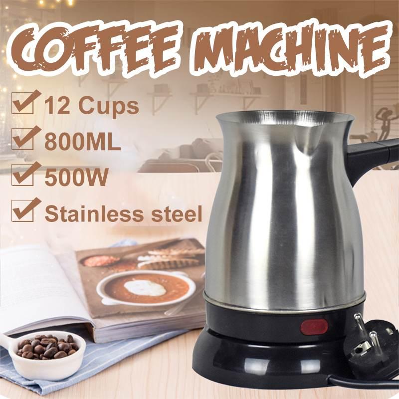800ml 500W 12 tazas Mini calentadores eléctricos placa de cocina estufa caliente leche Agua café té calentador horno Multi cocina electrodoméstico