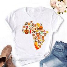 Кардиган с картой для африканских женщин женская футболка в