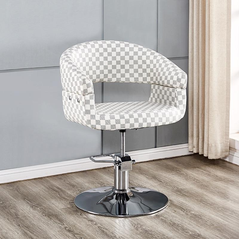 Hairdresser Chair Hair Salon Adjustable Chair Simple Haircut Chair
