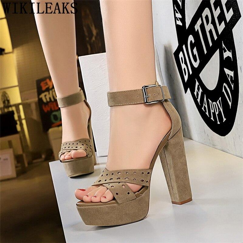 Designer Platform Heels