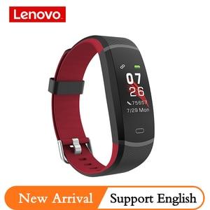 Image 1 - Lenovo Intelligente Banda HX11 Braccialetto Intelligente Schermo TFT HX11 fascia Smartband Per Il Fitness Tracker Bluetooth 4.2 Sport Impermeabile Banda Intelligente