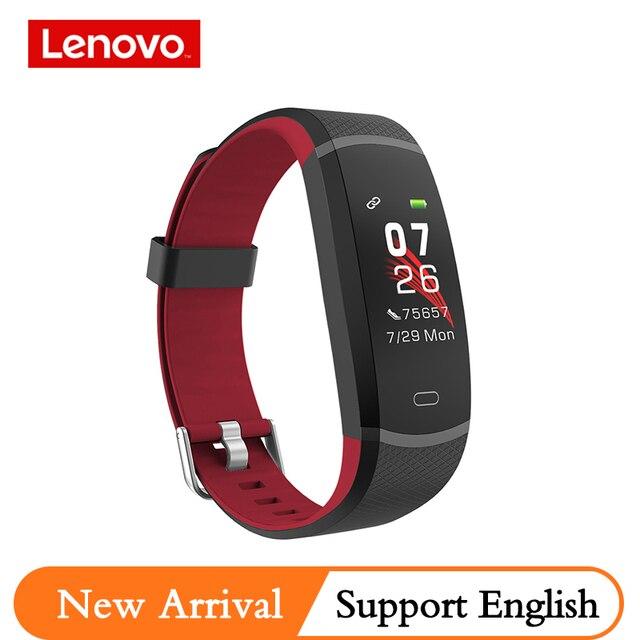 Lenovo Intelligente Banda HX11 Braccialetto Intelligente Schermo TFT HX11 fascia Smartband Per Il Fitness Tracker Bluetooth 4.2 Sport Impermeabile Banda Intelligente