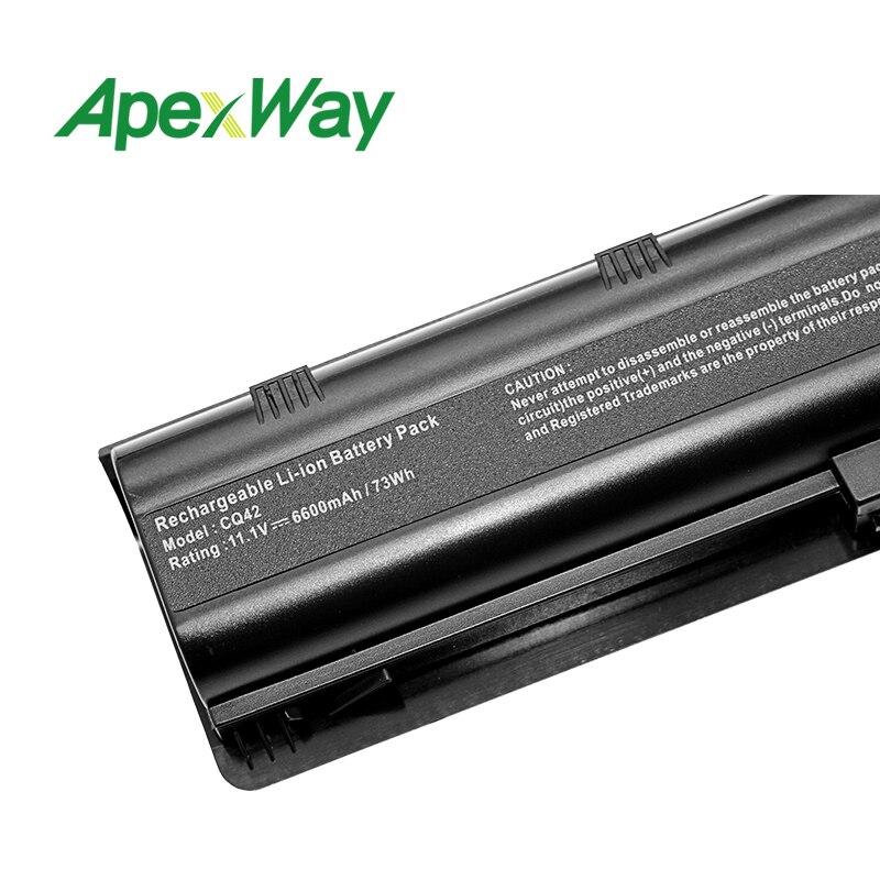Image 5 - 11.1V battery for HP mu06 G6 CQ42 CQ62z 300 dv7 593553 001 HSTNN YB0W 593554 001 CQ42 100 CQ42 200 CQ42 300 CQ43 100 CQ43 200 G7-in Laptop Batteries from Computer & Office