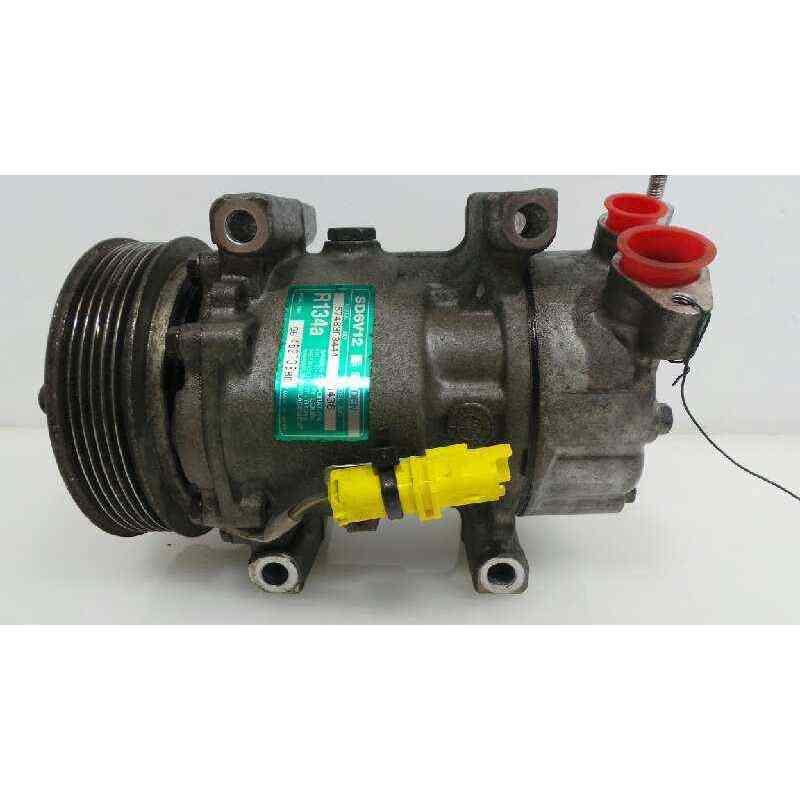9646273880 AIR CONDITIONING COMPRESSOR PEUGEOT 206 SALOON A/C Compressor & Clutch     - title=