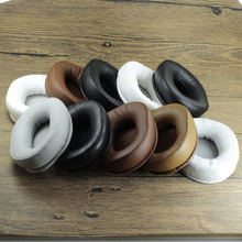 95*75MM Elliptical Stereo Thickening Ear Pads Protein Skin Memory Foam Earphone Sponge Cover Soft Replacement Earpads YW#