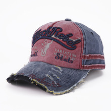 Go  States Sell Like Hot Cakes Letters Embroidery Do Old Tauren Baseball Cap Locomotive Water Wholesale And
