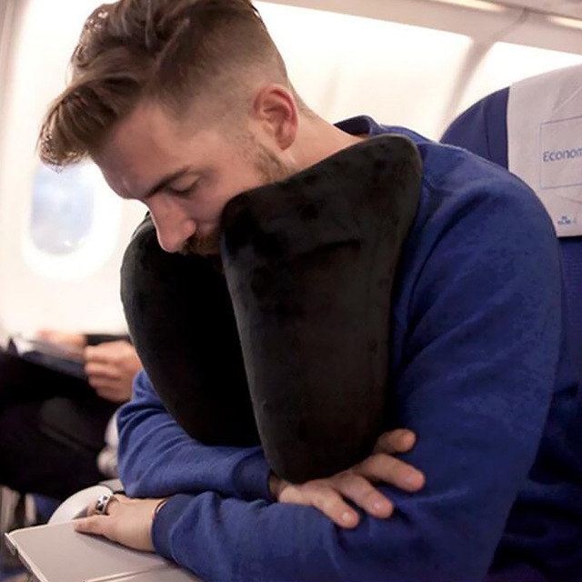 H-Shape Inflatable Travel Pillow
