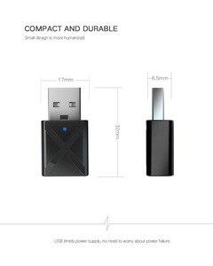Image 5 - Vikefon bluetooth 5.0オーディオレシーバートランスミッターミニステレオbluetooth aux rca usb 3.5ミリメートルジャックテレビpc用カーキットワイヤレスアダプタ