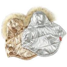 Зимняя Теплая Одежда для собак наряд французского бульдога пальто