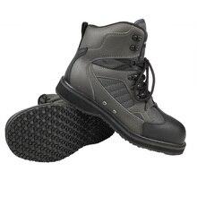 낚시 방랑자 플라이 낚시 야외 사냥 업스트림 신발 펠트 또는 고무 단독 록 부츠 낚시 의류 또는 바지에 적합 FMF3