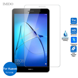Tempered Glass For Huawei Mediapad T3 8.0 T5 10 9.6 T1 7.0 M3 M5 M6 Lite 8.4 Screen Protector Glass on Media pad T 1 3 5 M 6(China)