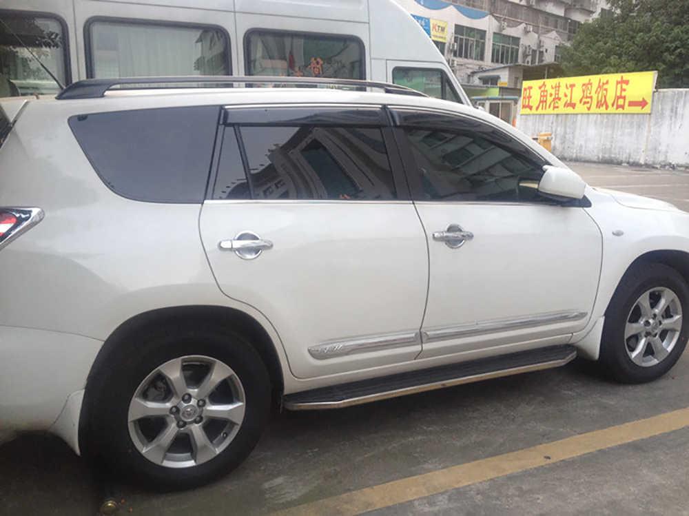 2009 2010 2011 2012 para Toyota RAV4 RAV 4 Visor de ventana sol lluvia viento Deflector toldo protector de ventilación cubierta de la pantalla ajuste 4 Uds