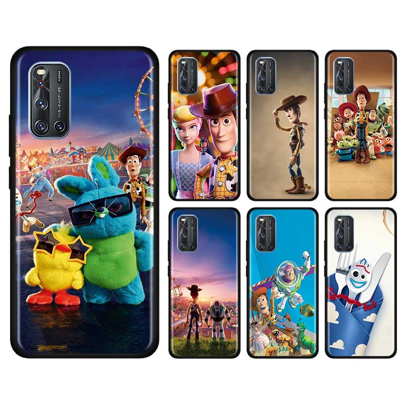 Thin Case For Vivo S1 Pro Y12 Y15 Pro Y17 Y19 Z6 5G Y30 Y50 V19 Iqoo 3 5G Z1 Phone Fall Cover Shell Toy Story