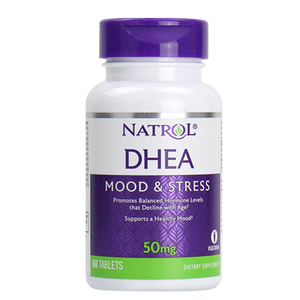 Image 2 - Natrol DHEA 50 mg Mood & Stress promotes balanced hormone levels that 60 tablets