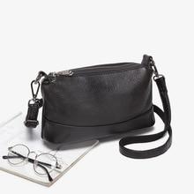 1PCS Pure Leather Womens Bag 2019 New Slant Woman 100 Single Shoulder Handheld