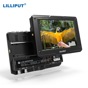 LILLIPUT H7/H7S 7 Inch 4K Ultra Brightness On-Camera Monitor with Full HD Resolution 1800nit Sunlight Viewable 4K-HDMI & 3G-SDI