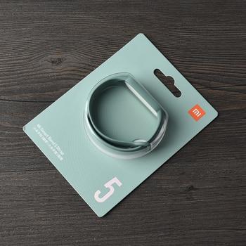 100% Original strap for xiaomi mi band 6 5 silicone bracelet miband 5 Mi5 strap for xiaomi xiomi mi band 5 Replacement Bracelet6 19