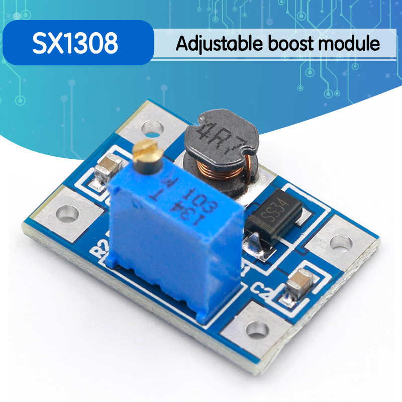 DC DC Step Up Converter Boost 2A Power Supply Module Board 2V 24V to 5V-28V PQ