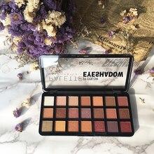 Maquillage longue durée 14 couleur ombre mat professionnel ombre à paupières pressé poudre éclaircir miroitant Palette maquillage