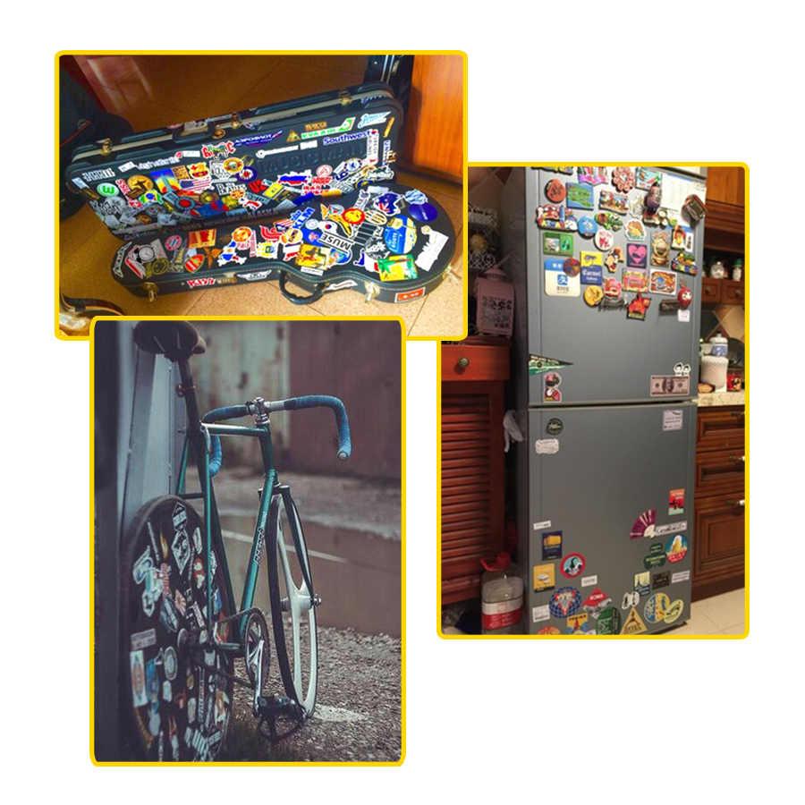 50 PCS Neon Stil Weihnachten Aufkleber Geschenke Spielzeug für Kinder Santa Elch Nette Decals Aufkleber zu Laptop Fahrrad Auto Kühlschrank koffer