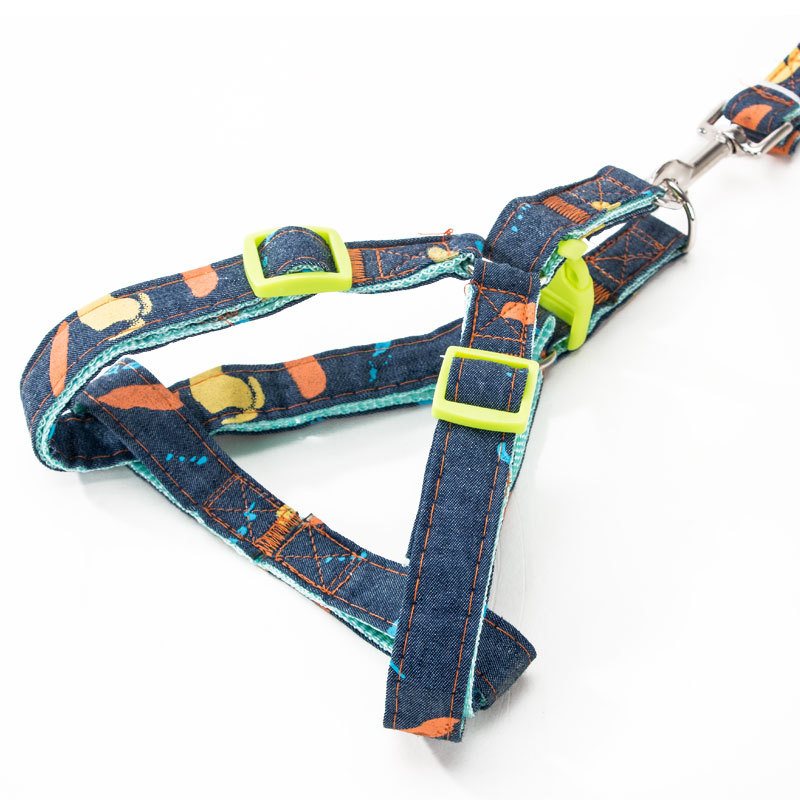 Neck Ring Dog Lanyard Sub-Lanyard Suspender Strap Cat Puppy Dog Traction Dog Chain Universal Unscalable Dog Teddy Pet
